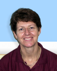 Physiotherapist Sue Yoall